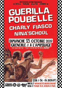Guerilla Poubelle - l'Amperage - 25/10/2009