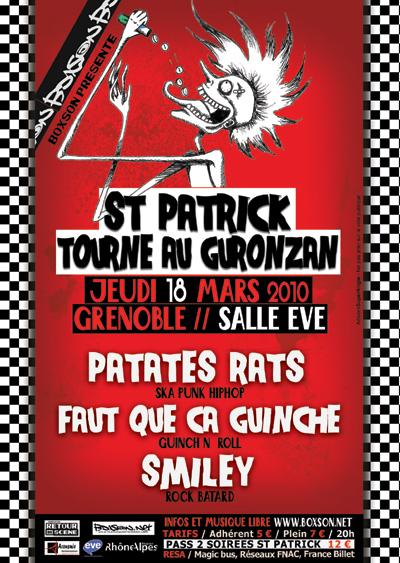 St Patrick tourne au Guronzan - EVE - 18/03/2010