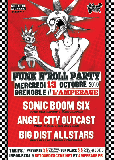 Punk N'Roll Party - l'Amperage - 13/10/2010