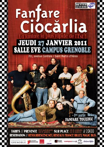 Fanfare Ciocarlia - EVE - 27/01/2011