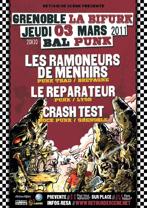 Bal Punk - La Bifurk - 03/03/2011