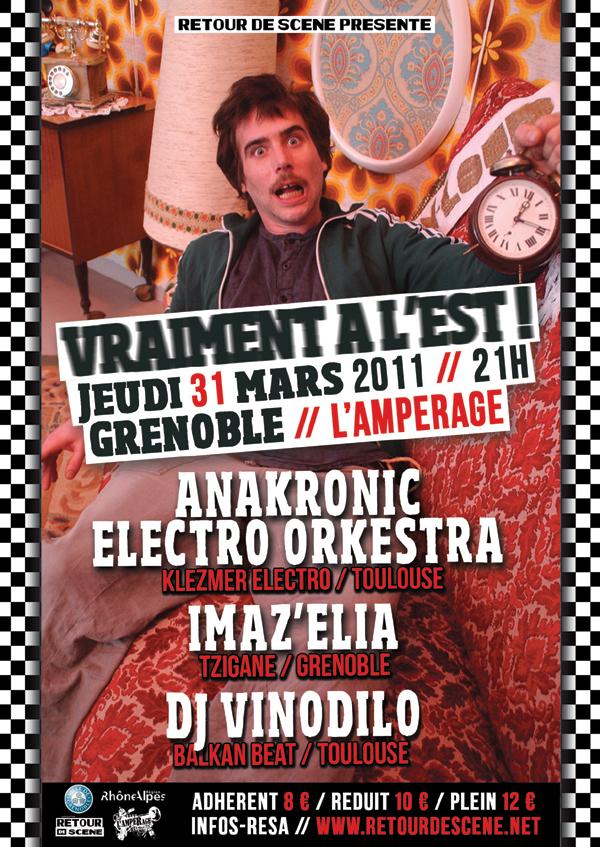 Vraiment A L'est - L'Amperage - 31/03/2011