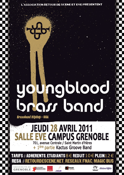 Youngblood Brass Band - EVE - 28/04/2011