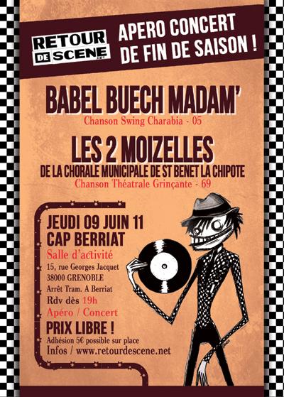 Apero Concert - Cap Berriat - 09/06/2011