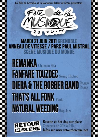 Fête de la Musique - Anneau de Vitesse - 21/06/2011