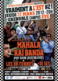 Vraiment A L'est - EVE - 22/03/2012