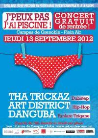 J'peux Pas J'ai Piscine - Campus - 13/09/2012