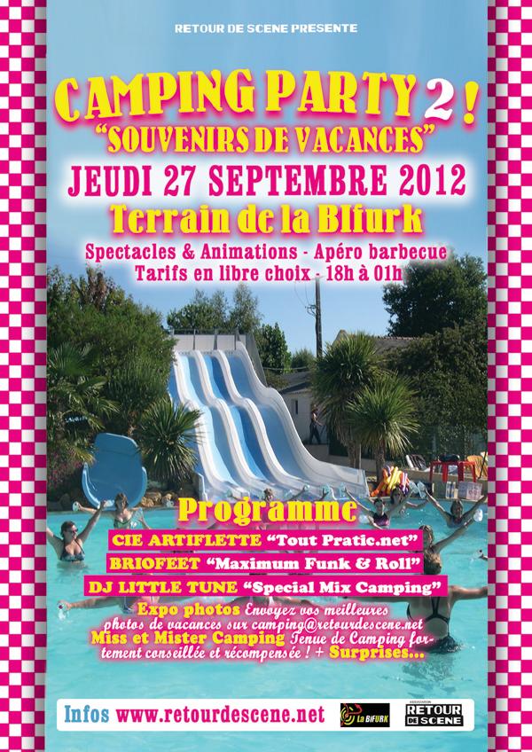 Camping Party 2 - La Bifurk - 27/09/2012