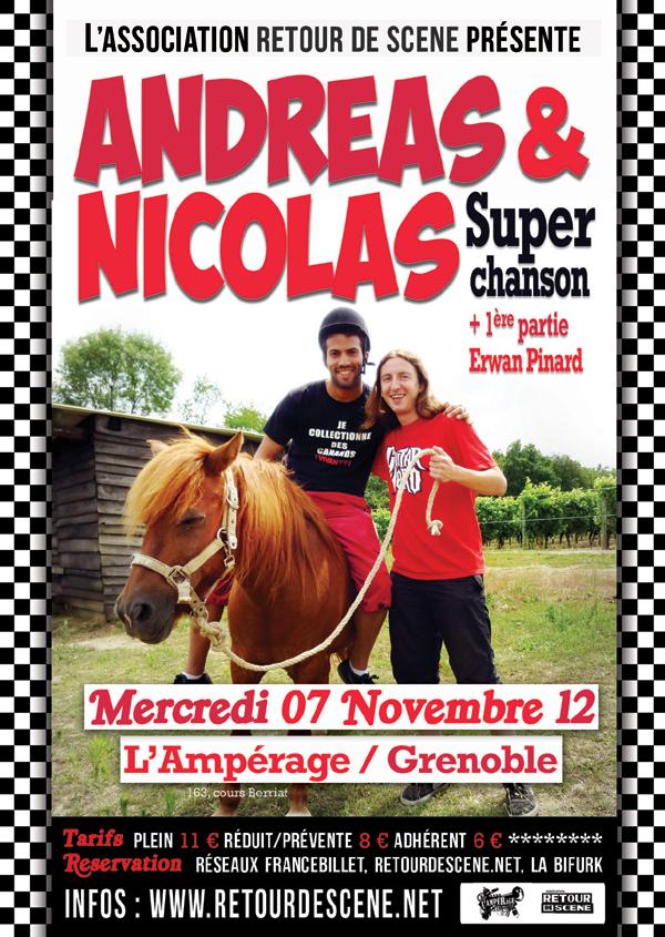 Andreas & Nicolas - L'Amperage - 07/11/2012