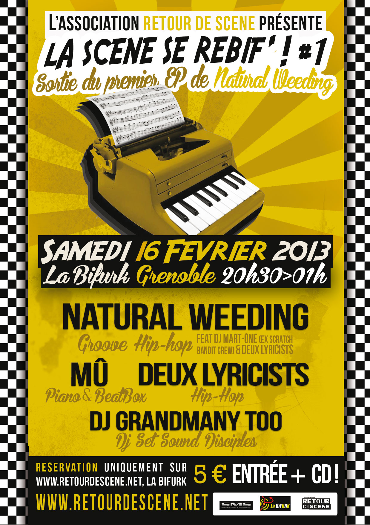 La Scène se Rebif - La Bifurk - 16/02/2013