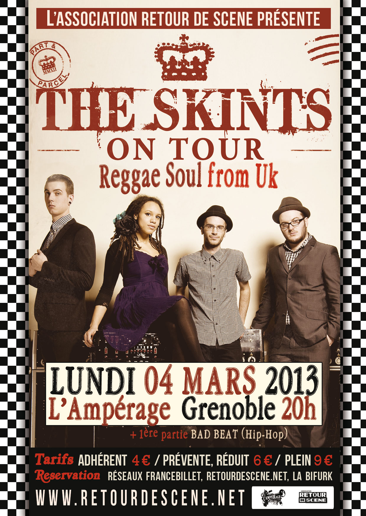 The Skints - Amperage - 04/03/2013