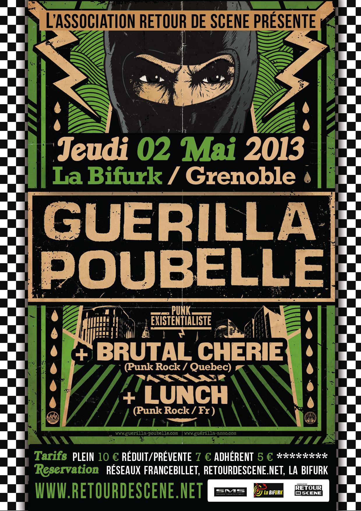 Guerilla Poubelle - La Bifurk - 02/05/2013