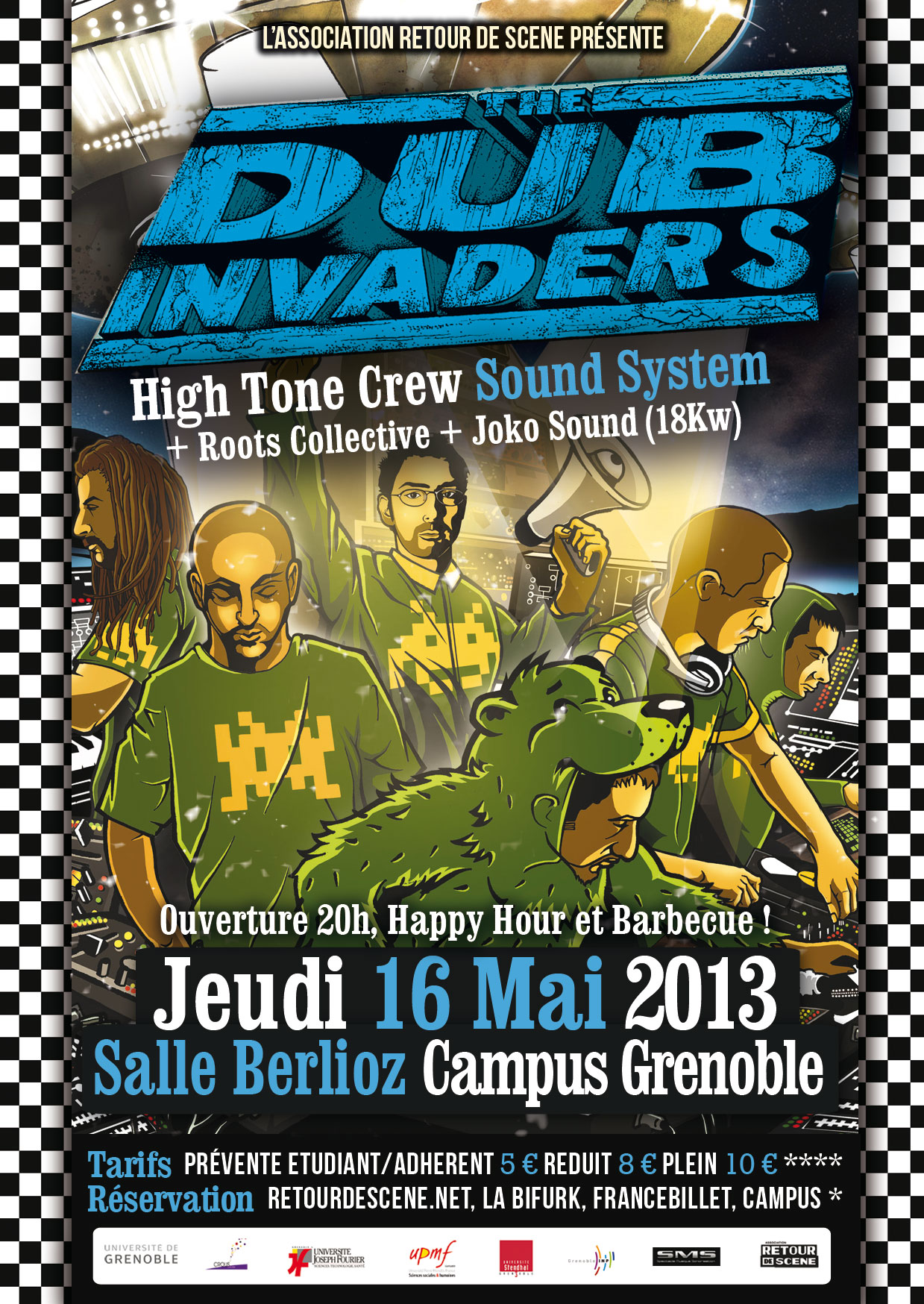 Dub Invaders - Berlioz Campus - 16/05/2013