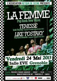 La Femme - EVE - 24/05/2013