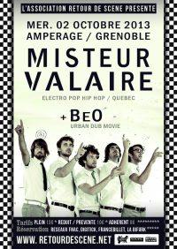 Misteur Valaire - Amperage - 02/10/2013