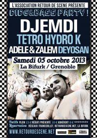 Didg & Bass Party - La Bifurk - 05/10/2013