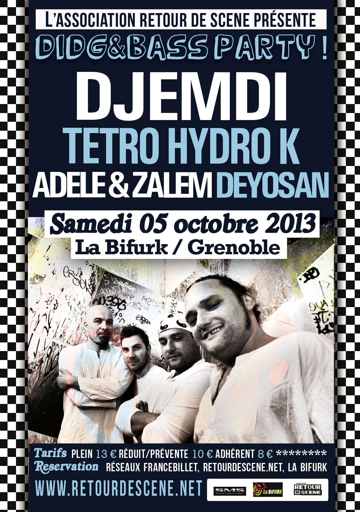 Didg & Bass Party - La Bifurk - 05/10/2013
