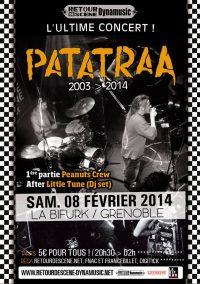 Patatraa - La Bifurk - 08/02/2014