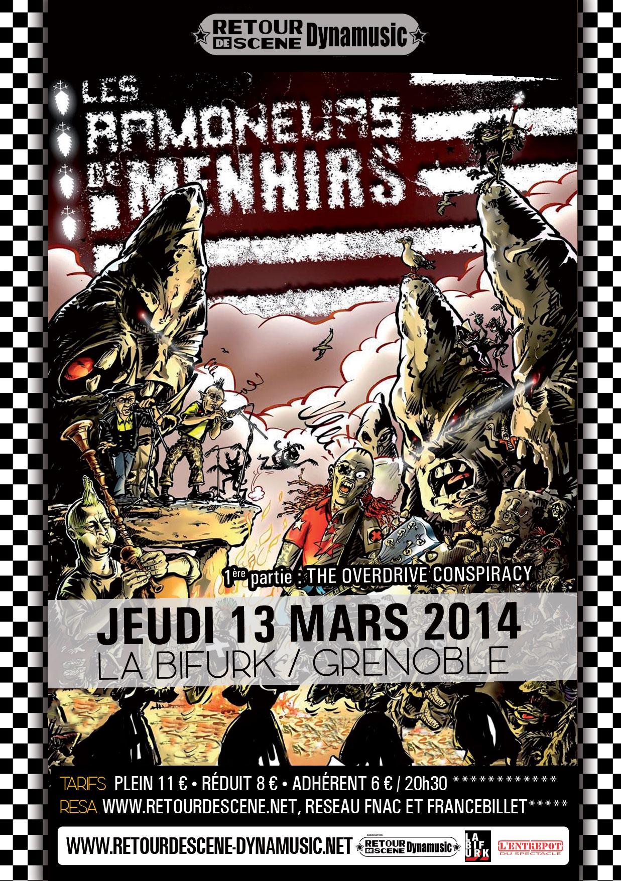 Armoneurs de Menhirs - La Bifurk - 13/03/2014