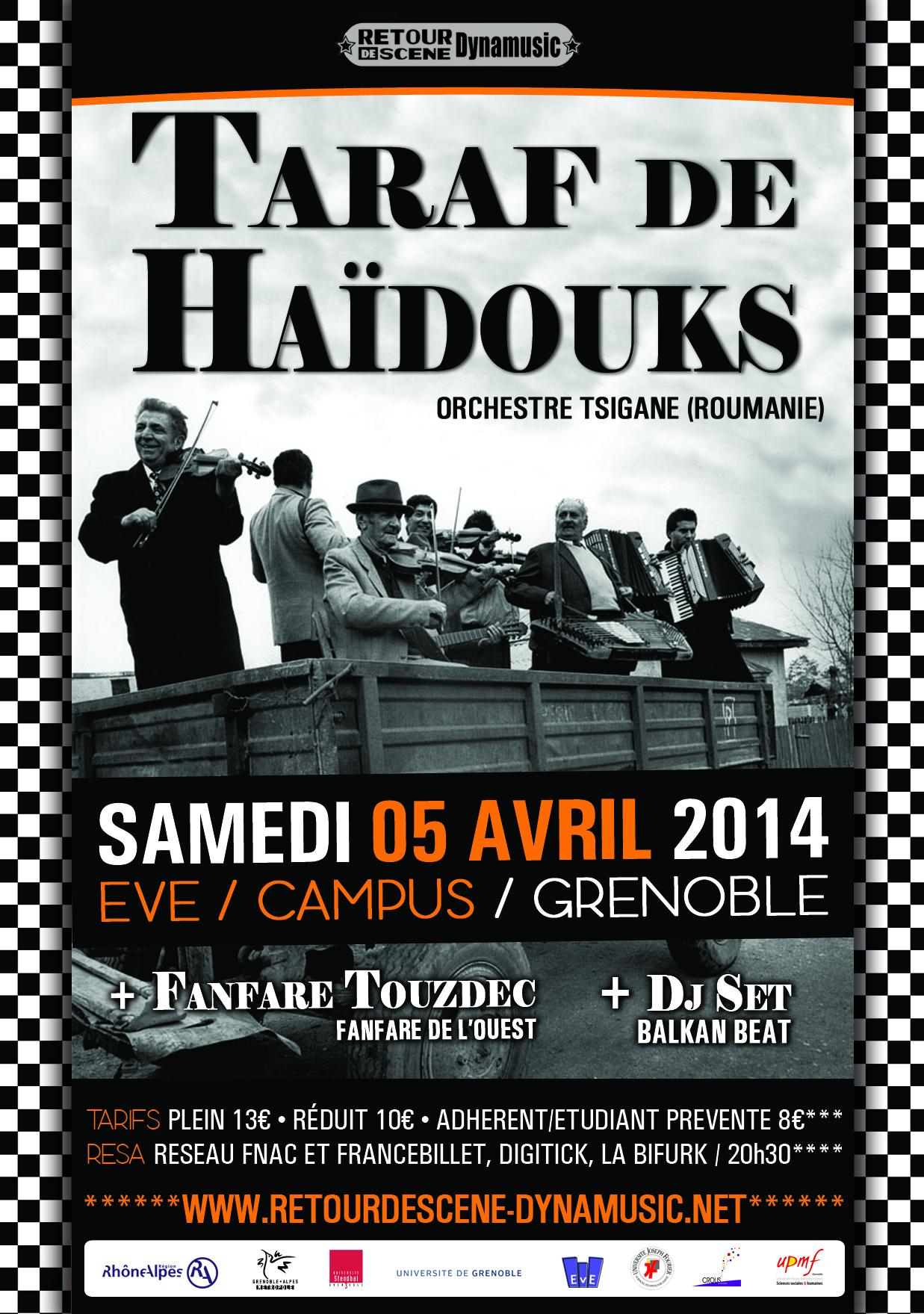 Taraf de Haïdoucks - EVE - 05/04/2014