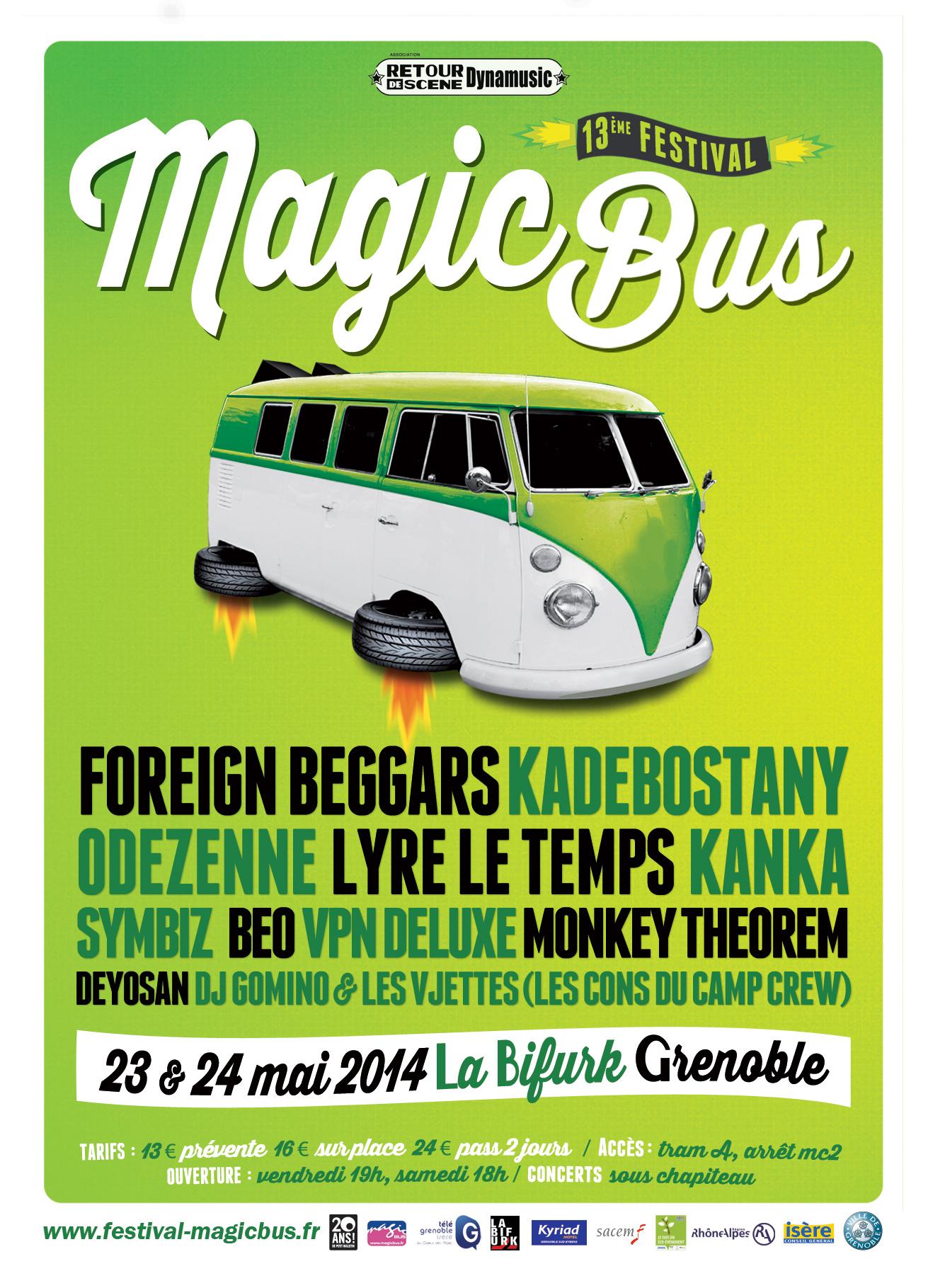 MagicBus - La Bifurk - 23/05/2014