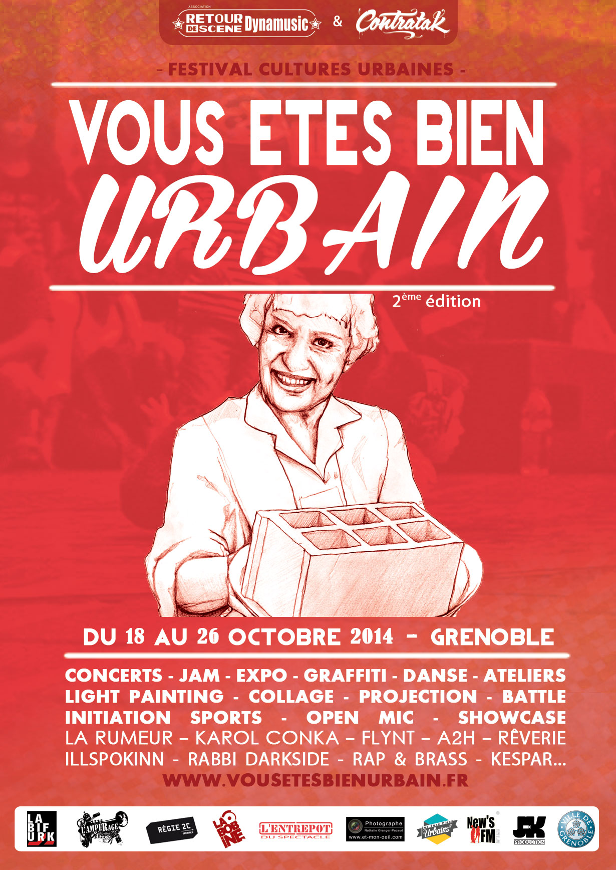 Festival Cultures Urbaines - Grenoble - 18/10/2014