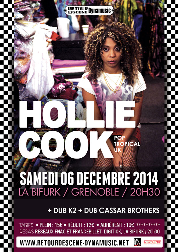 Hollie Cook - La Bifurk - 06/12/2014