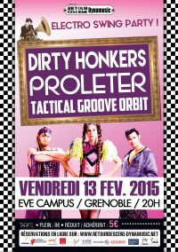 Dirty Honkers Proleter Tactical Groove Orbit - EVE - 13/02/2015
