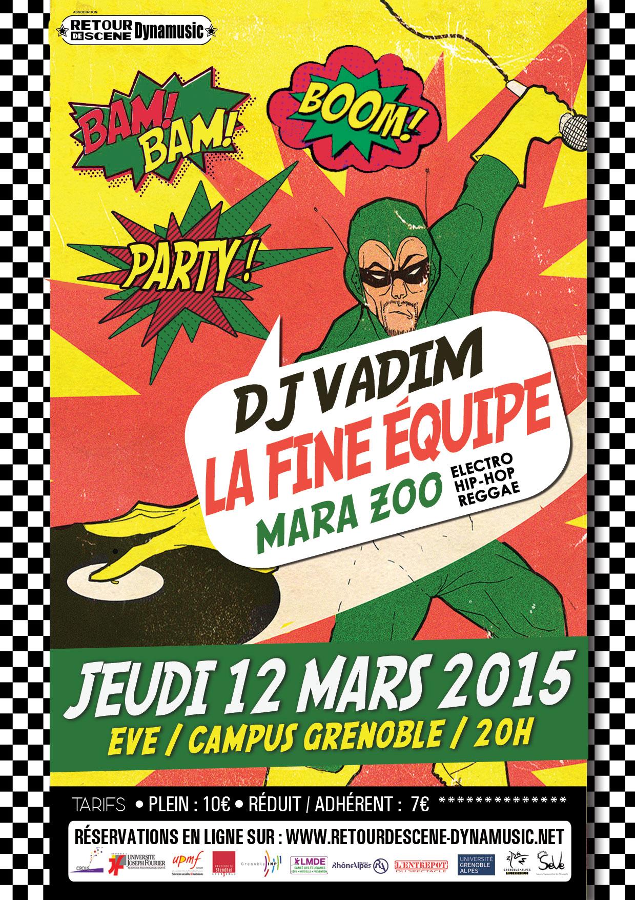 DJ Vadim - EVE - 12/03/2015