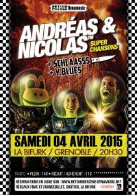 Andréas & Nicolas - La Bifurk - 04/04/2015