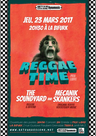 2017.03.23 - Reggae time : The Soundyard + Mecanik Skankers