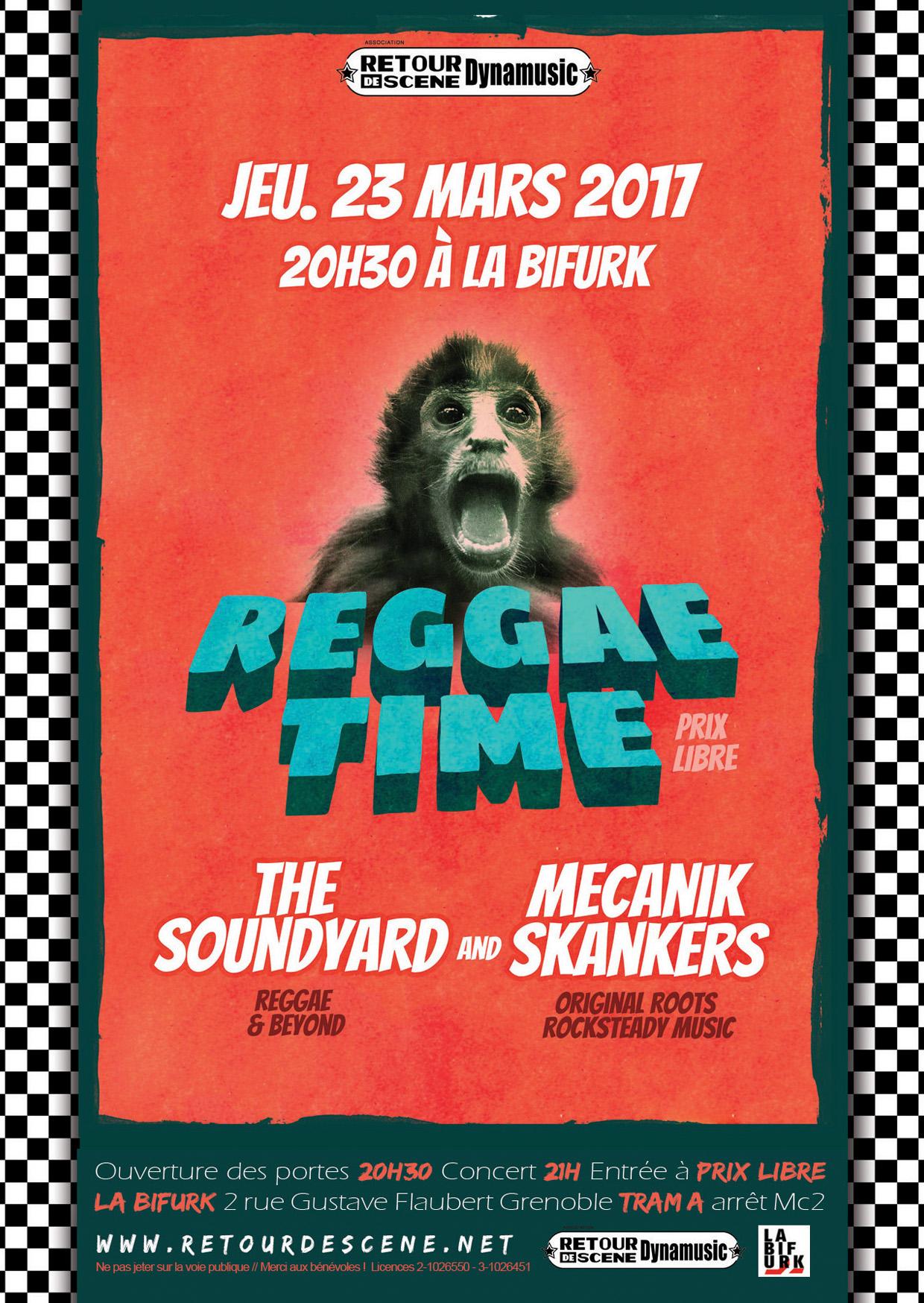 2017.03.23 - Reggae time : The Soundyard + Mecanik Skankers