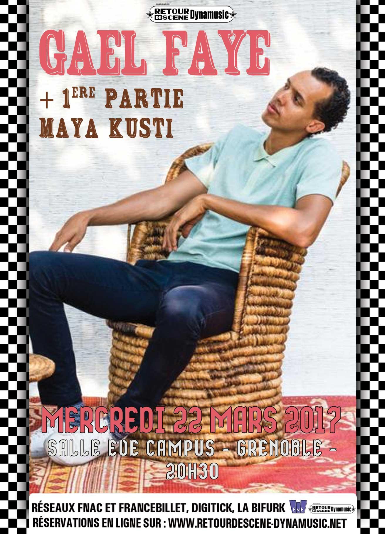 20170322 - Gael Faye + Maya Kutsi
