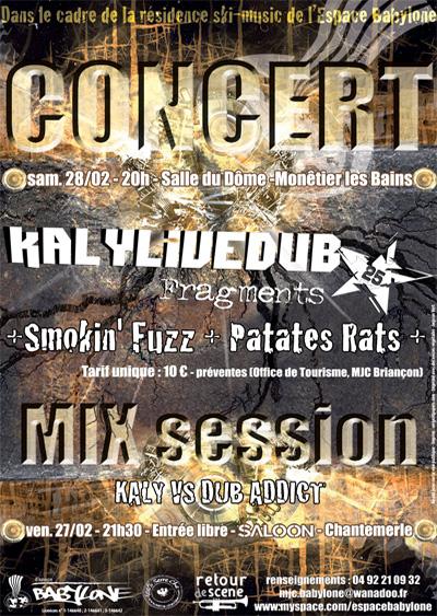 Mix Session - Salle du Dôme - 28/02/2009