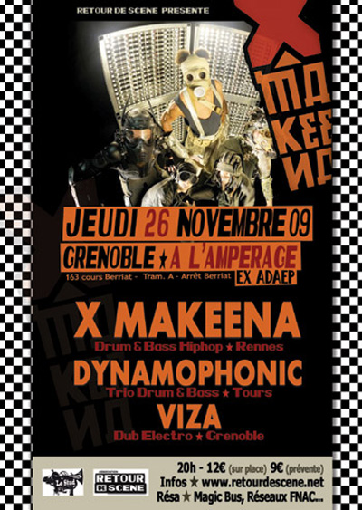 X Makeena - L'Amperage - 26/11/2009