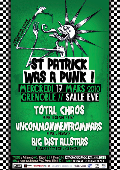 St Patrick Was a Punk - EVE - 17/03/2010