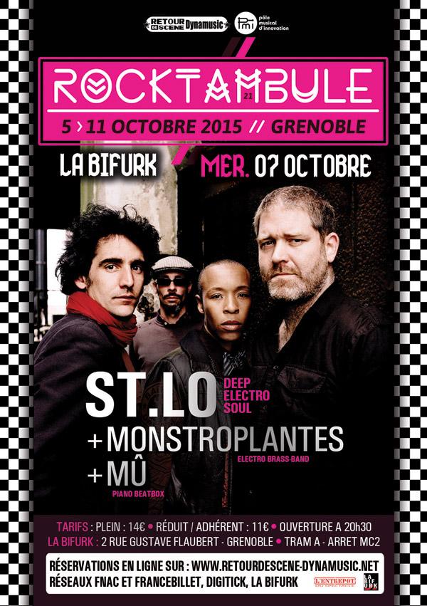 Rocktanbule - La Bifurk - 05/10/2015.