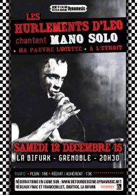 Hurlement Mano - La Bifurk - 12/12/2015
