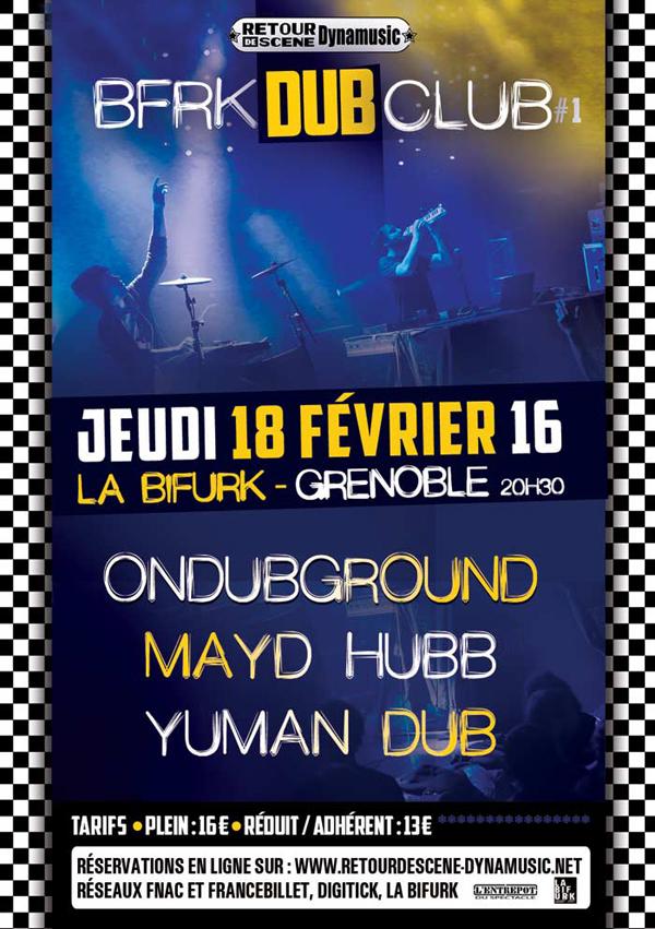 BFRK Dub Club - La Bifurk - 18/02/2016