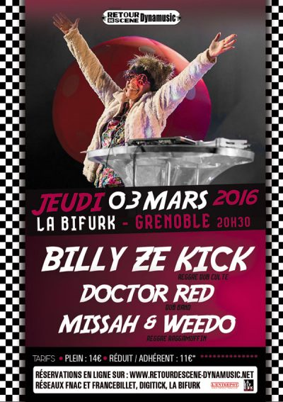 Billy Ze Zick - La Bifurk - 03/03/2016
