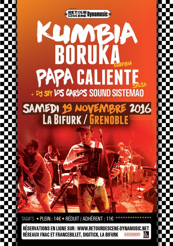 Kumbia Boruka - La Bifurk - 29/11/2016