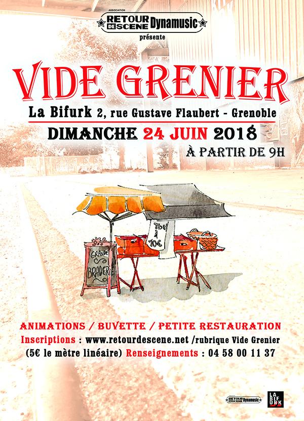 Vide Grenier à la Bifurk _ Grenoble