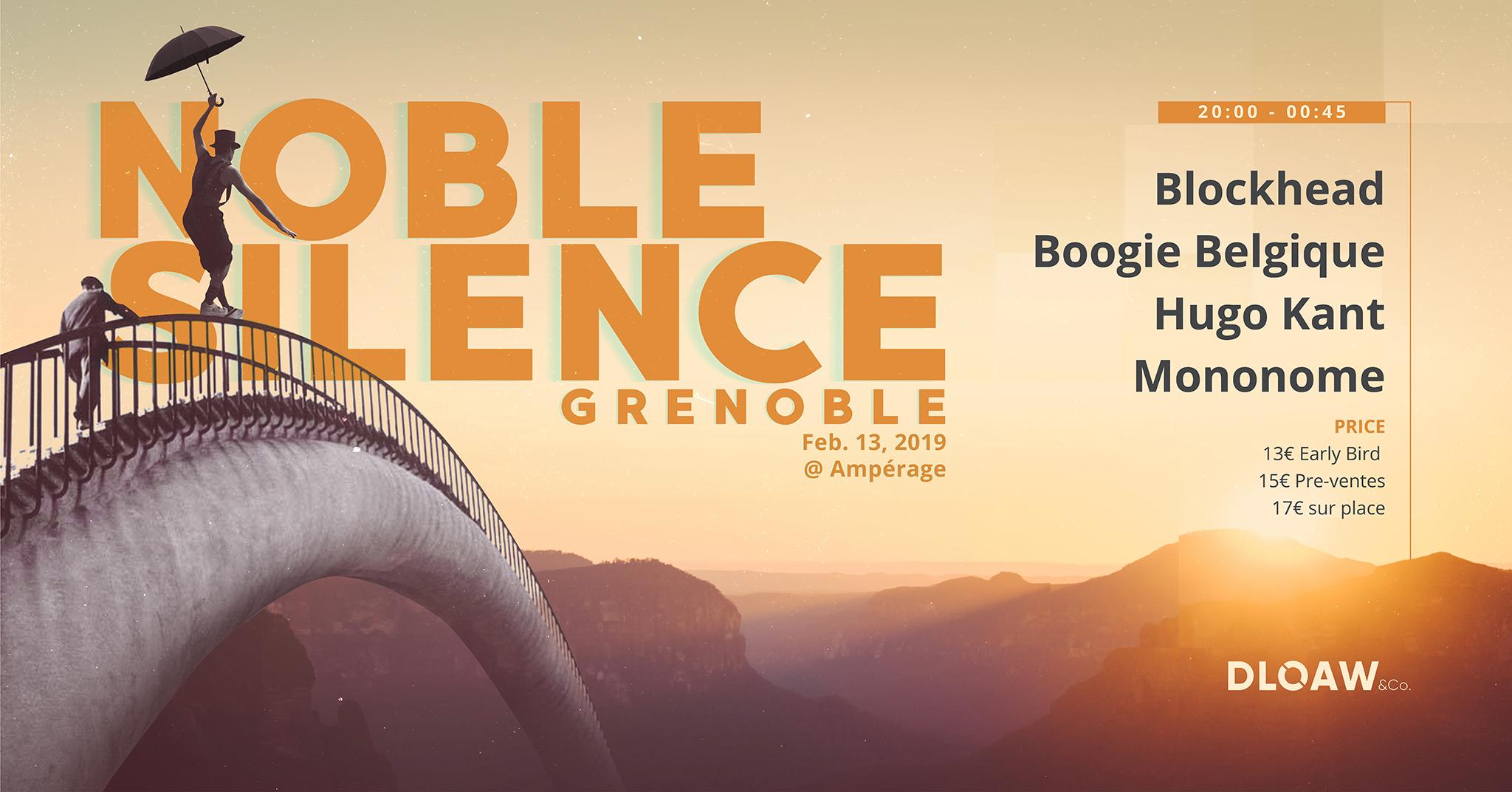 Noble Silence à Grenoble