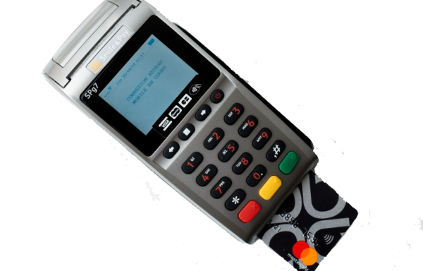 Terminal carte bancaire