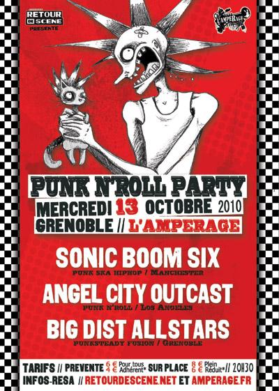 Punk N'Roll Party - l'Amperage - 13/10/2010