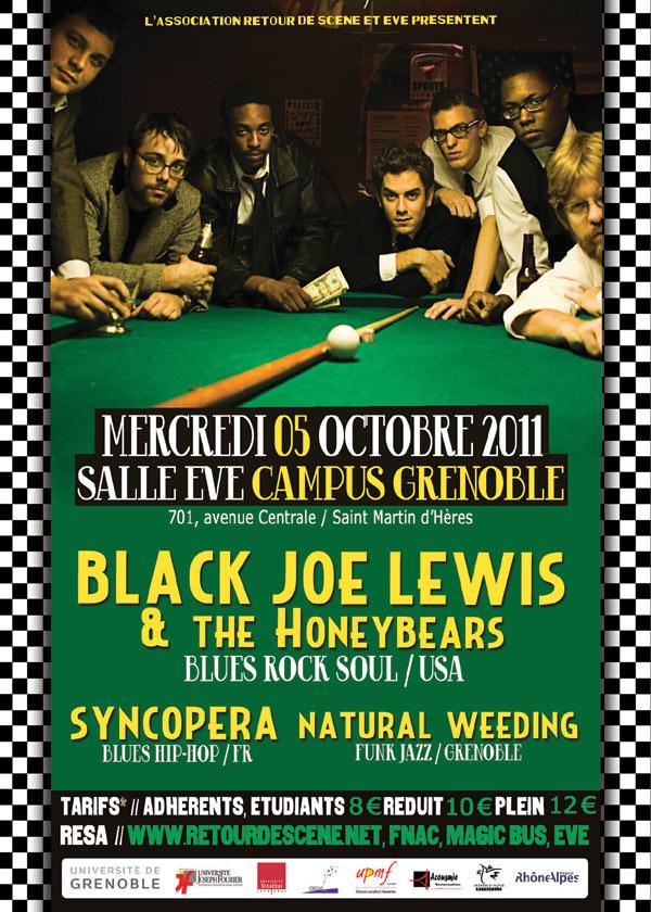Black Joe Lewis - EVE - 05/10/2011