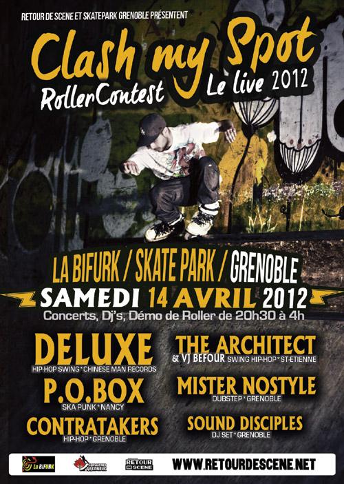 Clash My Spot - La Bifurk - 14/04/2012