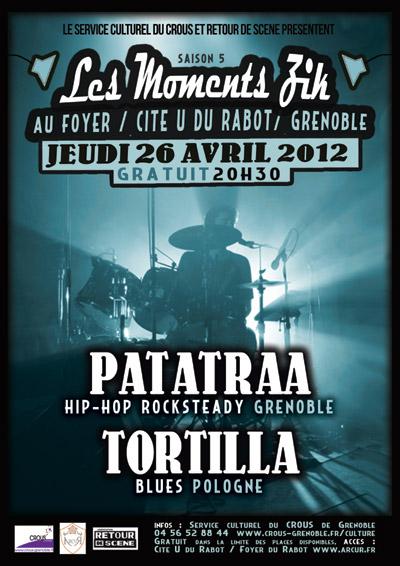 Les Moments Zik - Au Foyer - 26/04/2012