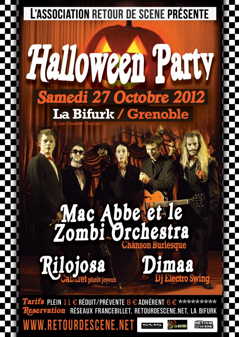 Halloween Party - La Bifurk - 27/10/2012