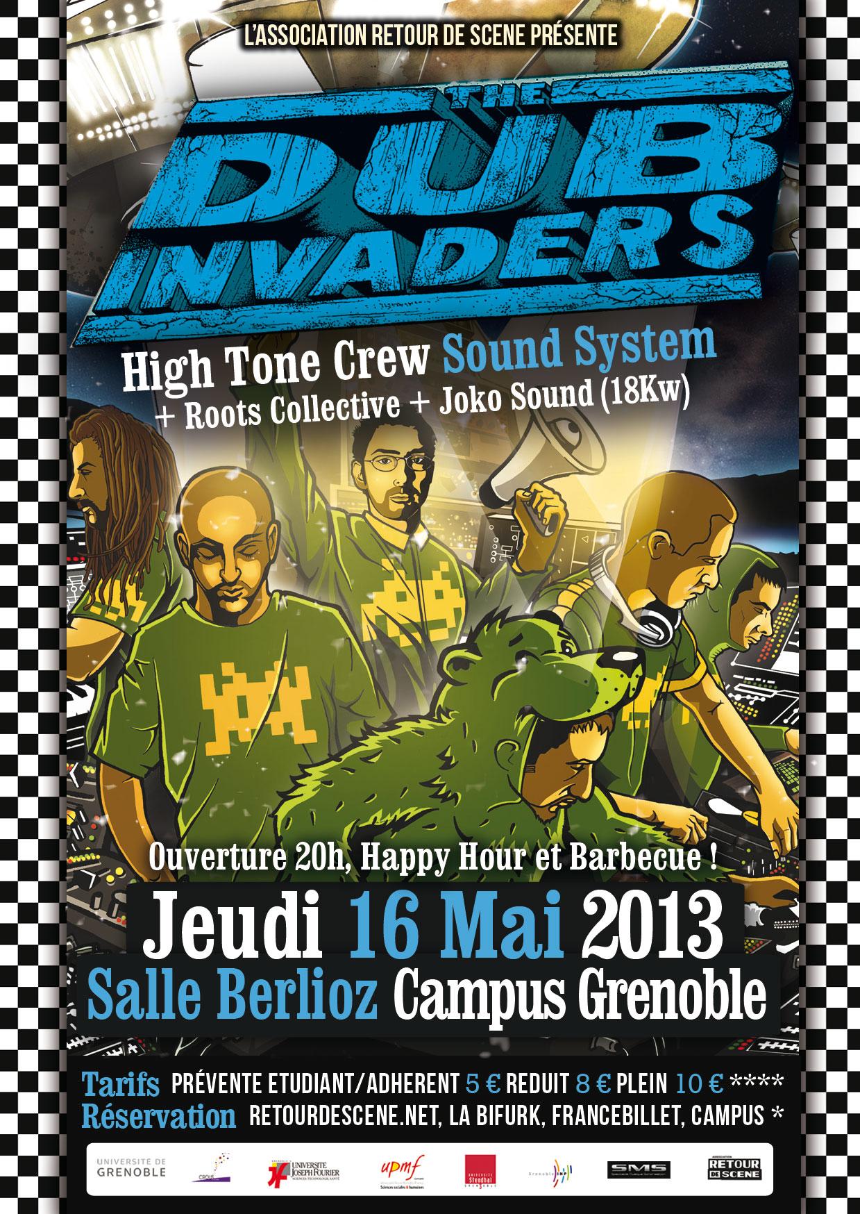 Dub Invaders - Berlioz Campus - 16/05/2013